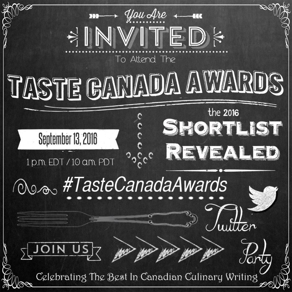 A Spicy Touch receives Taste Canada Award nomination